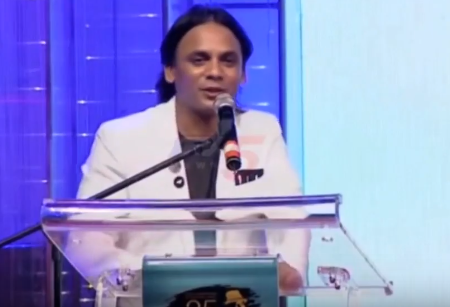 John Sudheer speech at Voter Title Logo Launch