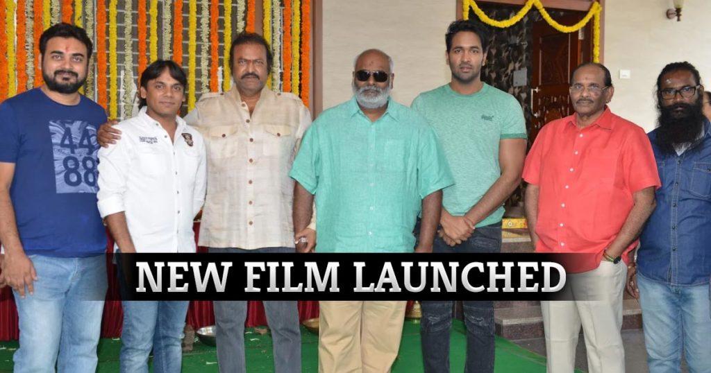 Vishnu Manchu's Tamil debut film launched
