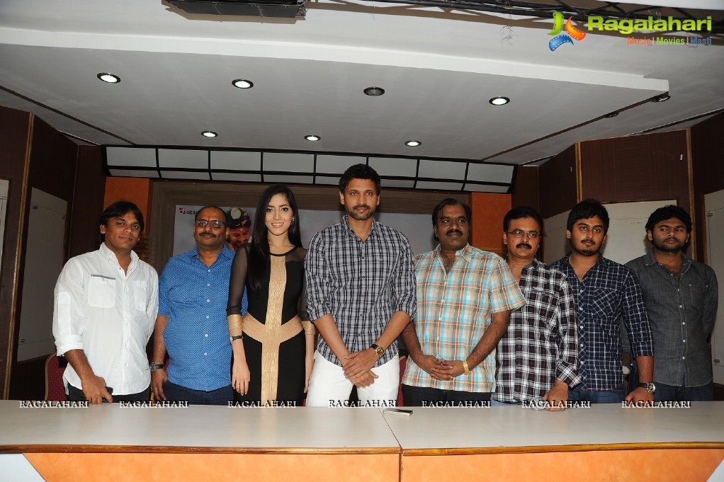 """Emo Gurram Egaravachu""(Telugu) film success meet"