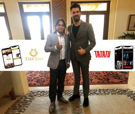 RAMA Group's chairman John Sudheer meets the founder of TATATU, Mr. Andrea Lervolino